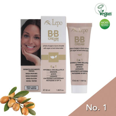Lepo 140 BB krém (6 in 1), No. 1 Light Medium, 50 ml